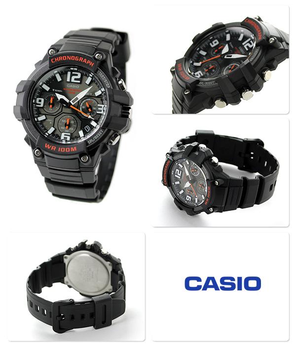 995b475cb0 カシオ 海外モデル クロノグラフ メンズ 腕時計 MCW-100H-1AVCF CASIO ...